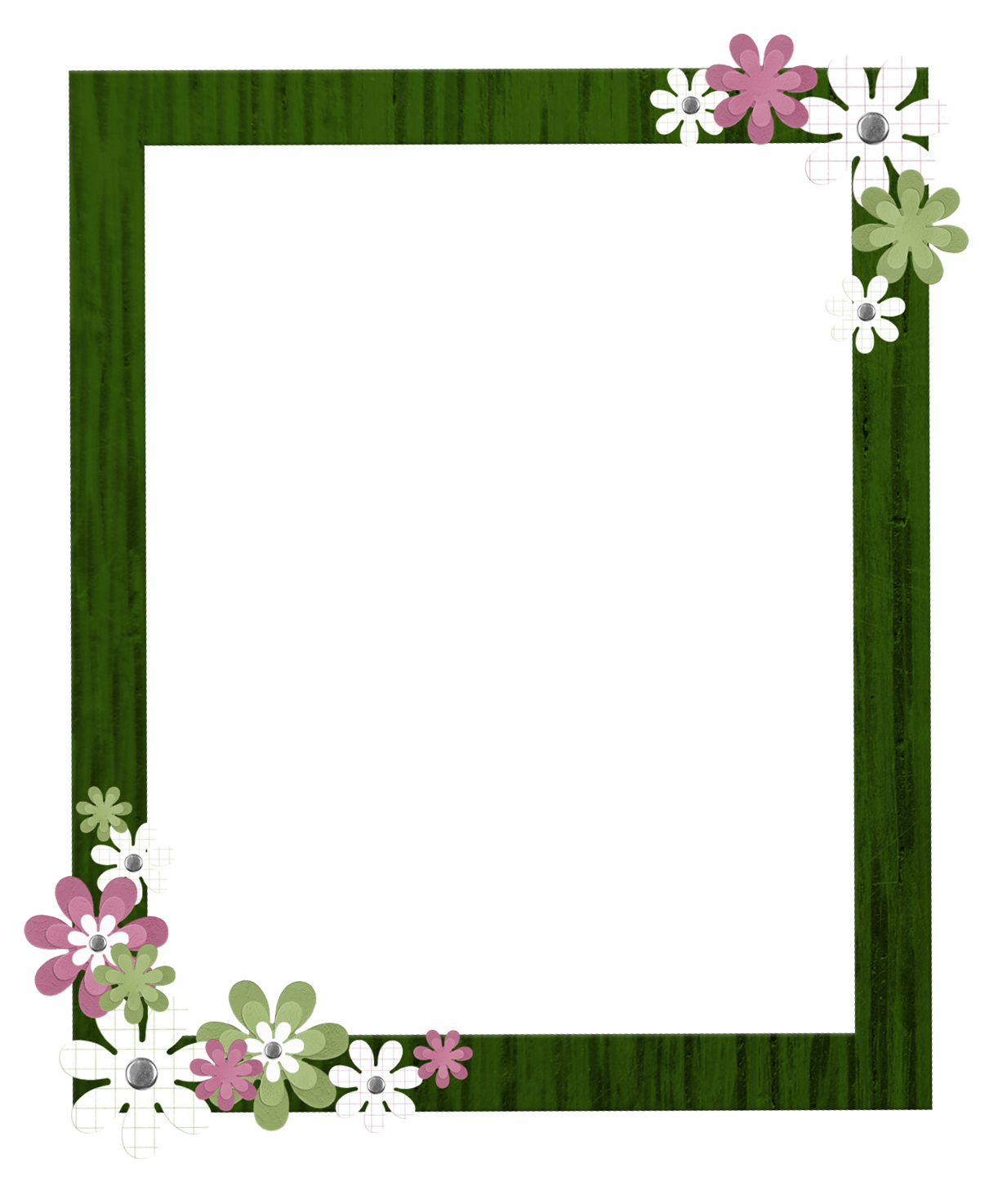 yellow frame png | Related to Yellow Flowers Photo Border ...