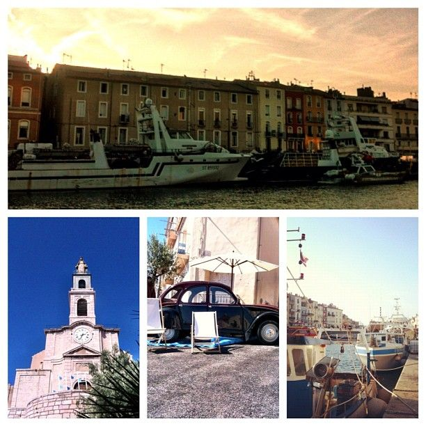 Postcard from Sete, France