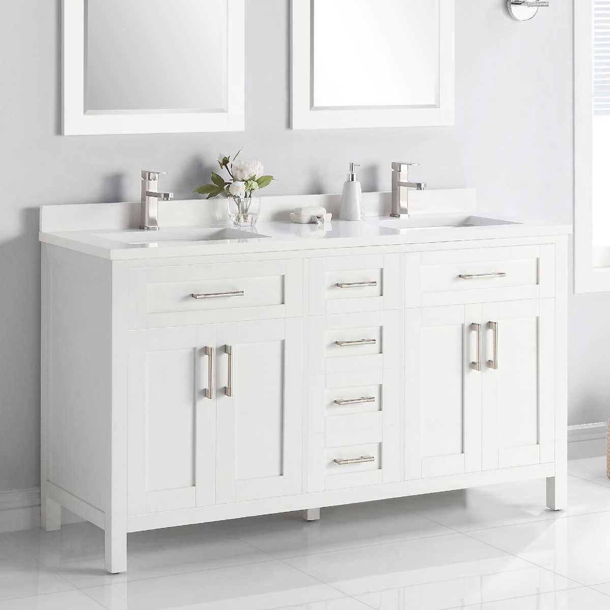 Lakeview 60 Vanity By Ove With Images 60 Vanity