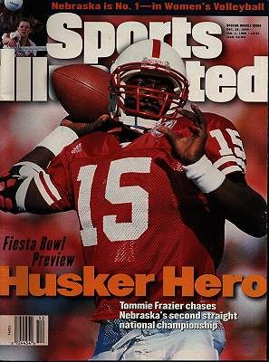 Tommie Frazier (With images) | Nebraska football, Nebraska ...