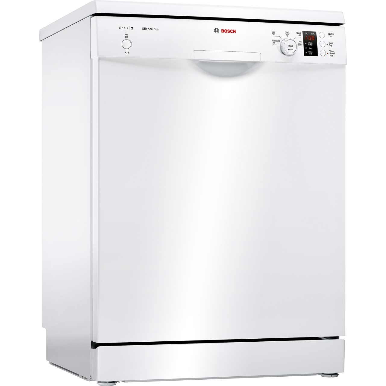 Bosch Serie 2 SMS25AW00G Standard Dishwasher - White - A++ Rated ...
