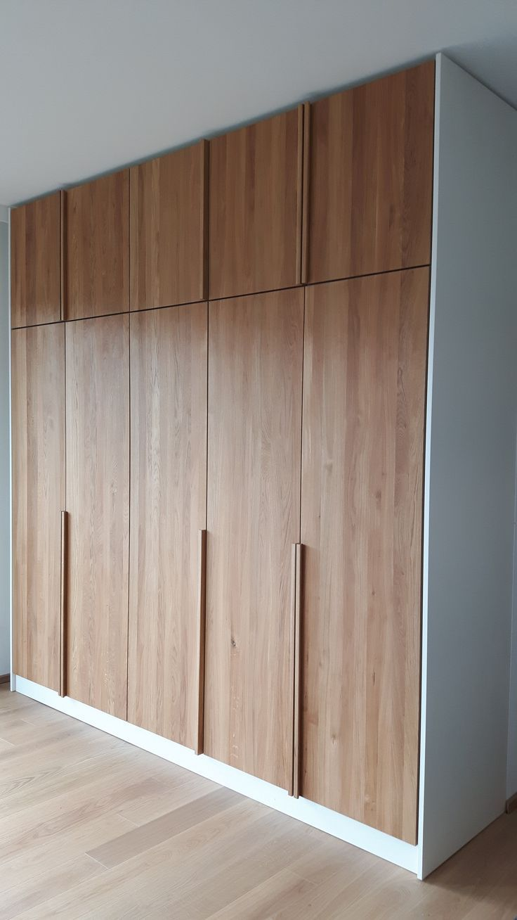 minimal bedroom wardrobe by zebramade.com #minimal #closet #minimalism … #minimalbedroom