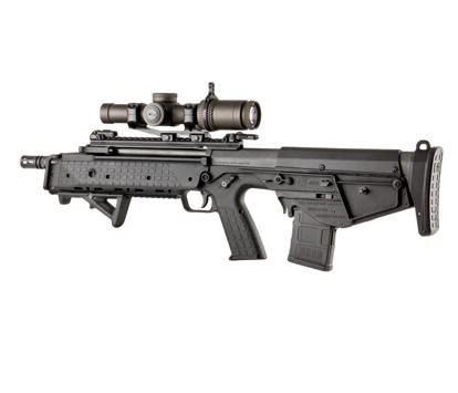 RDB - Kel-Tec (Rifle Downward-eject Bullpup) is a brilliantly designed bullpup styled rifle available in 5.56 nato caliber. This would be a great tool for an EP team needing a compact designed weapon system.
