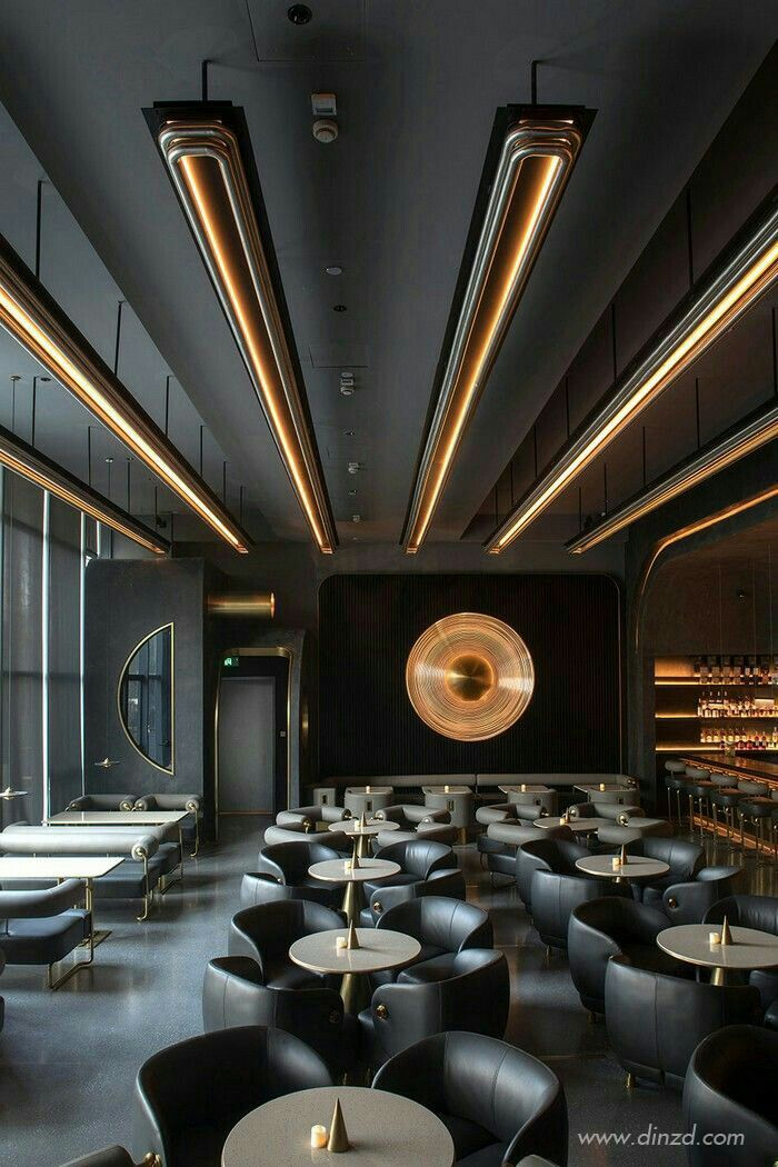 Restaurant Decor Luxury Bar Hotels Design Restaurant Interior