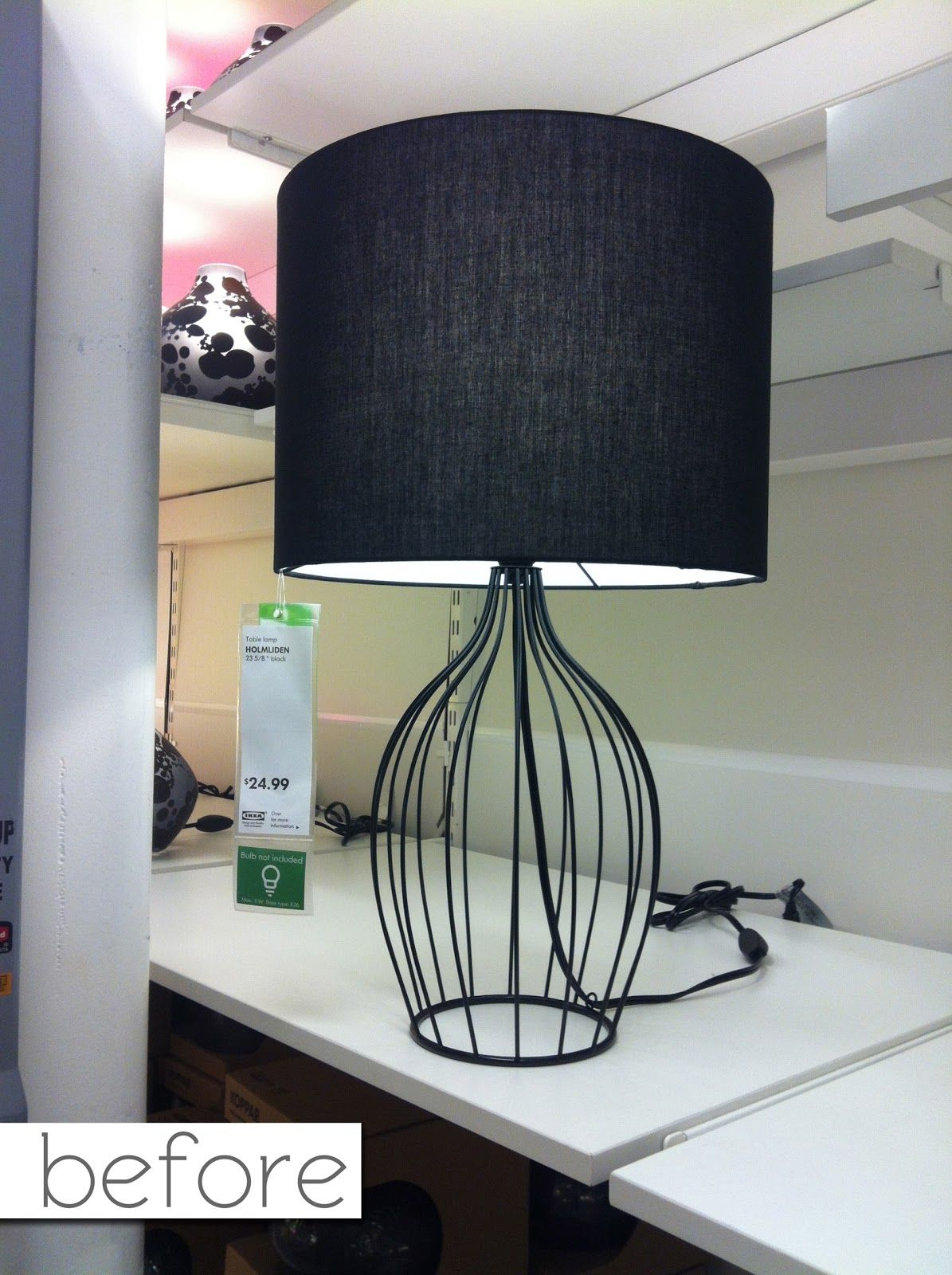 BEDROOM Holmliden Lamp - Ikea $25 This is not listed on the Ikea ...