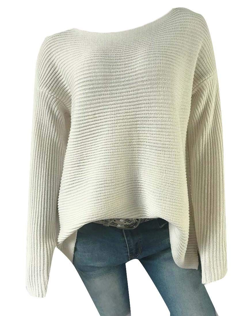 Joe Wenko Big Girls Solid Knitted Slim Fit Turtleneck Pullover Cute Sweater