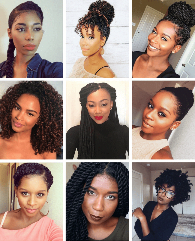 Confidently Match Natural Hairstyles And Work Environment Professional Natural Hairstyles Natural Hair Styles Thick Hair Styles