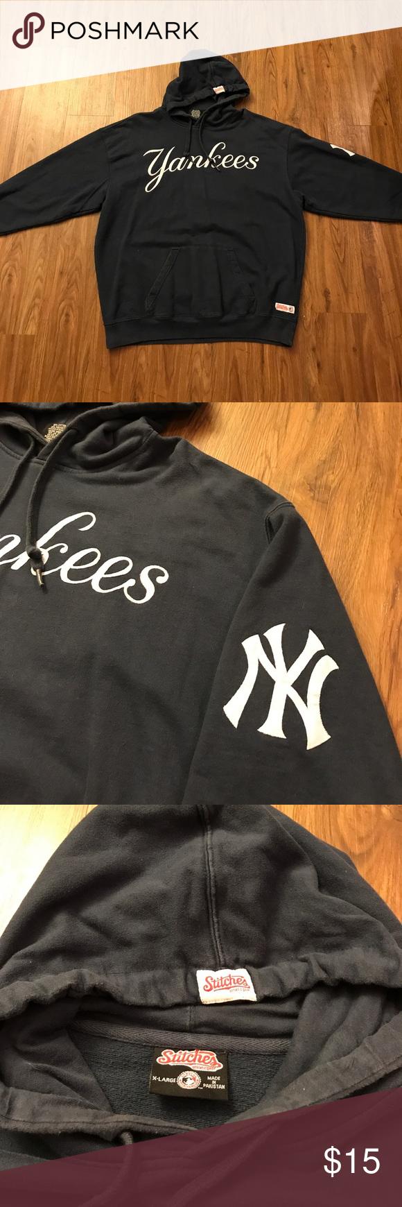 New York Yankees Hoodie Stitches Athletic Gear New York Yankees