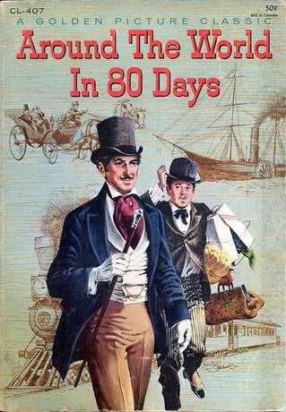 Around The World In 80 Days Jules Verne Around The World In 80