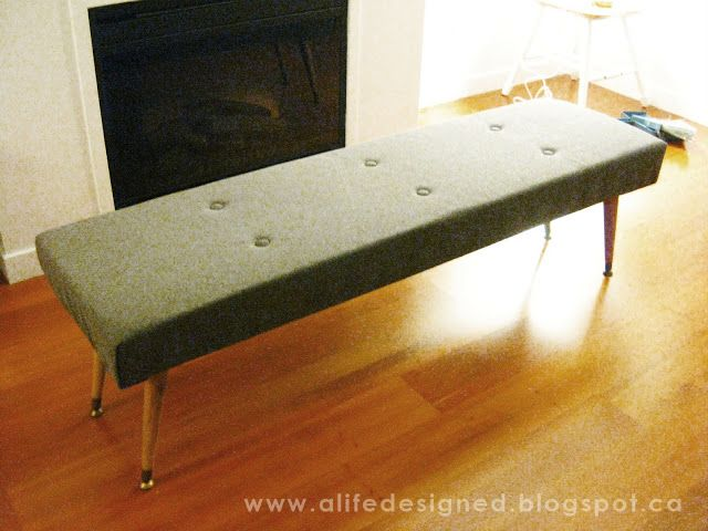 Incredible Diy Midcentury Bench For The Home Mid Century Dining Forskolin Free Trial Chair Design Images Forskolin Free Trialorg