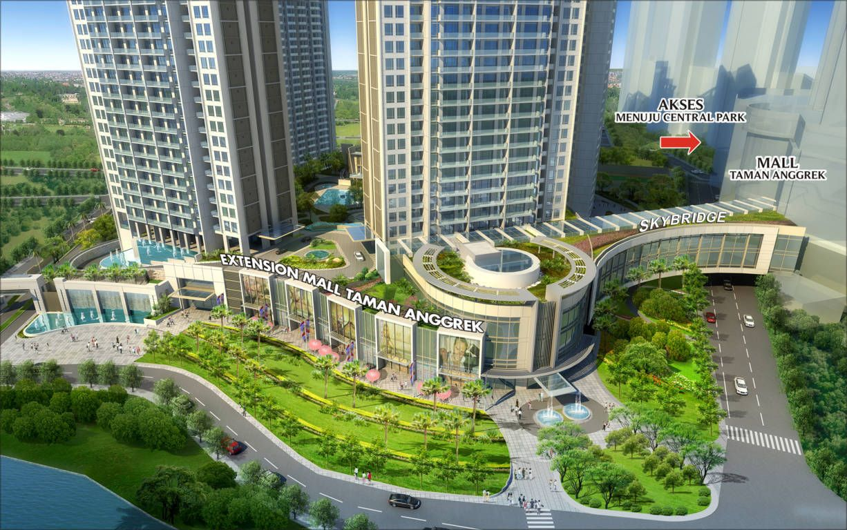 Having A Sky Bridge To Connect Directly To Taman Anggrek Mall And
