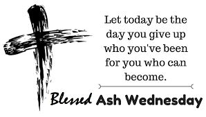Image result for ash wednesday 2021