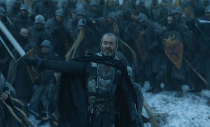 Game of Thrones - Mother's Mercy - Stannis Baratheon, out numbered, and surrounded...