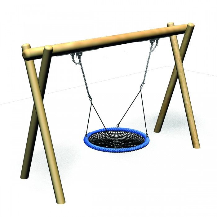 Flying Saucer Timba Frame With 1200mm Basket Playground Centre