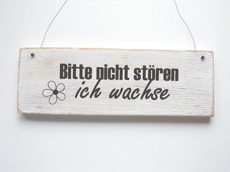 Sprüche Für Holzschilder : bitte nicht st ren ich wachse t rschild von d rpkind auf ~ Michelbontemps.com Haus und Dekorationen