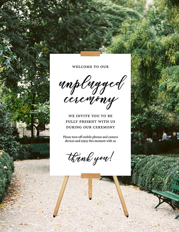 Printable wedding sign unplugged wedding sign unplugged ceremony printable wedding sign unplugged wedding sign unplugged ceremony sign minimalist wedding sign junglespirit Choice Image
