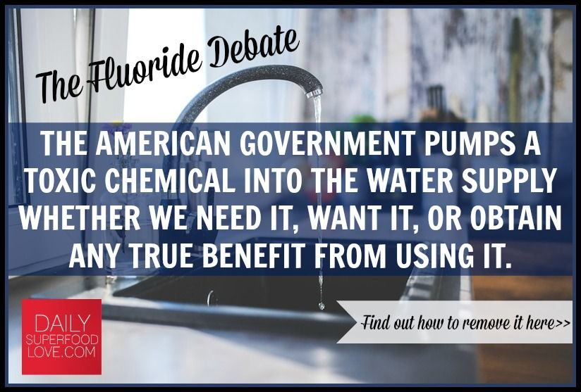 How to remove fluoride from your tap water your life