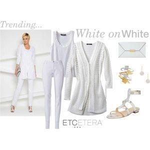 Etcetera: White on white.
