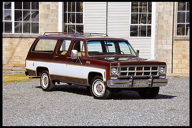 1977 Gmc Suburban Sierra Grande 7 000 Chevrolet Suburban