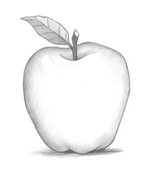 Dessin pomme gisele cantin dessin pomme comment dessiner - Pommes dessin ...