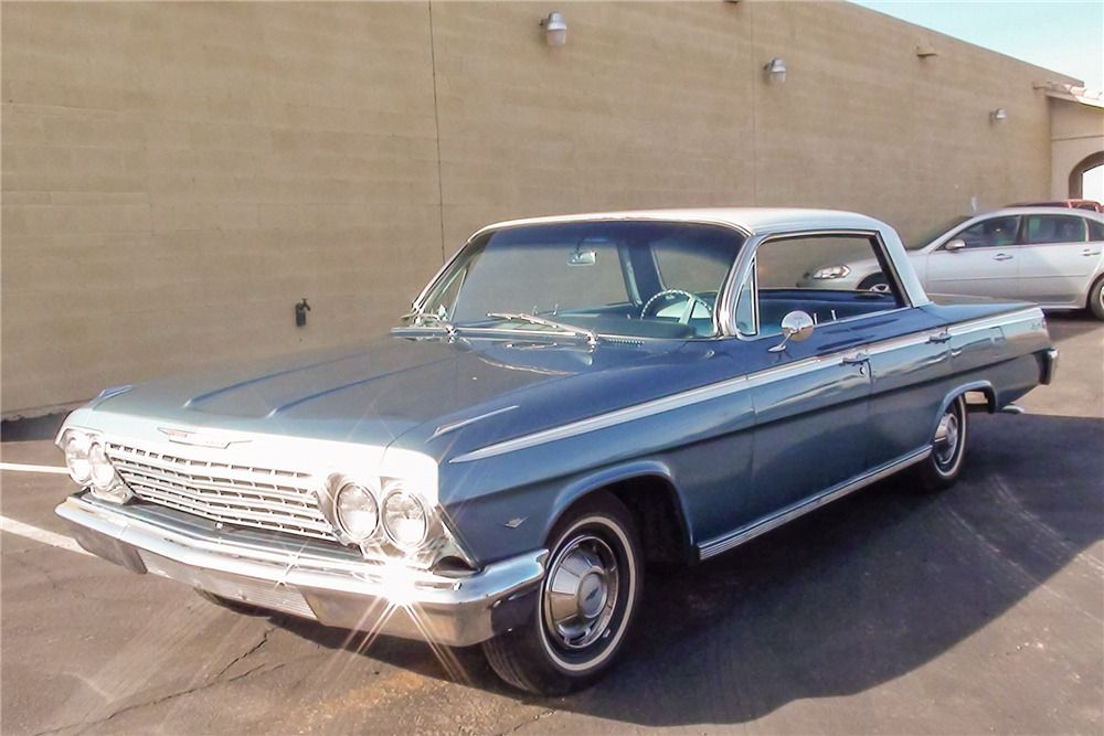 Sold At Scottsdale 2016 Lot 35 1962 Chevrolet Impala 4 Door Hardtop In 2020 1962 Chevy Impala Chevy Impala Chevrolet Impala