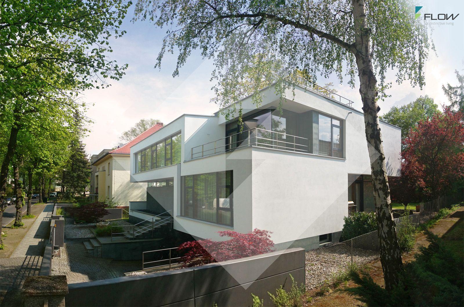 Zeitgenössische Architektenvilla in Berlin by www.flow-architektur ...