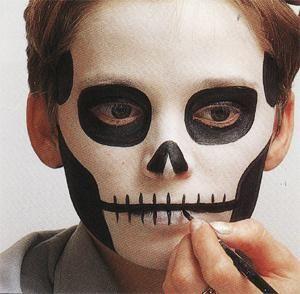 Id es de maquillage pour halloween qui fait peur faire peur et peur - Maquillage qui fait peur ...