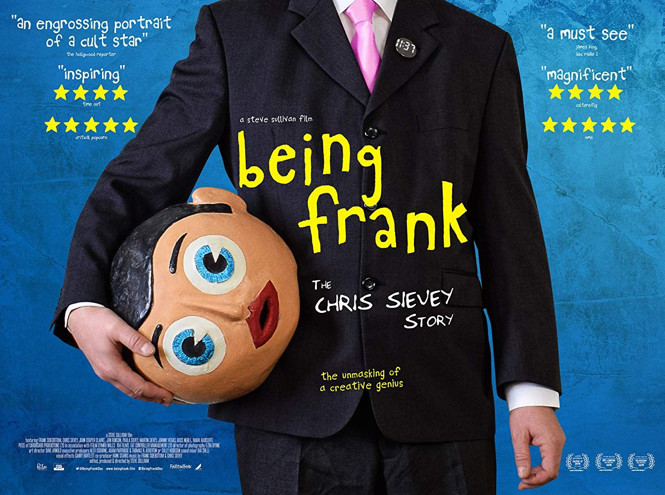 Latest Posters Chris sievey, Frank movie, Documentaries
