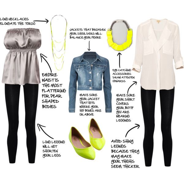 Pear Shaped Body: Flattering fashion for your figure ...