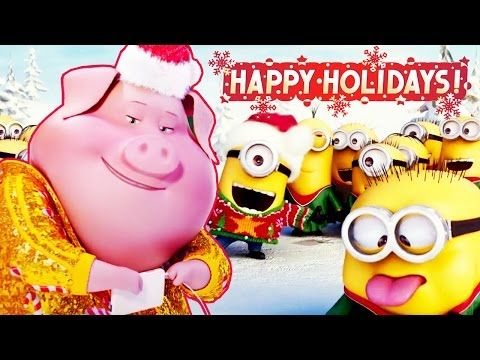 HAPPY HOLIDAYS From Your Favourite Animated Movie Characters - How your favourite animated movies are put together and edited