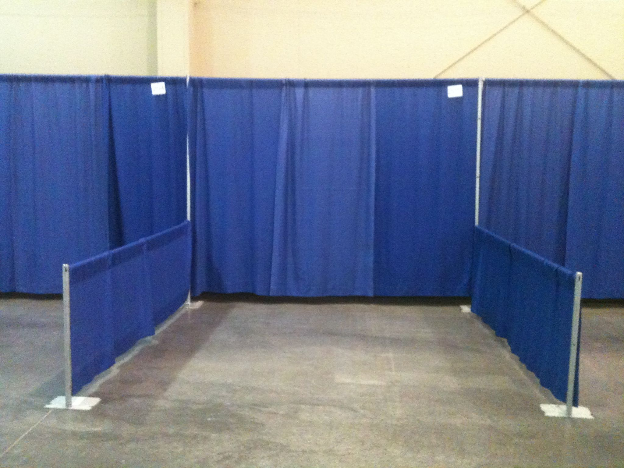 2012 Big Horn Outdoor Show 10x10 Booth Before Set Up