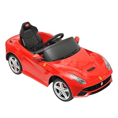 Ferrari F12 Kids 6v Electric Ride On Toy Car W Parent Remote Control Red Ride On Toys Toy Car Car