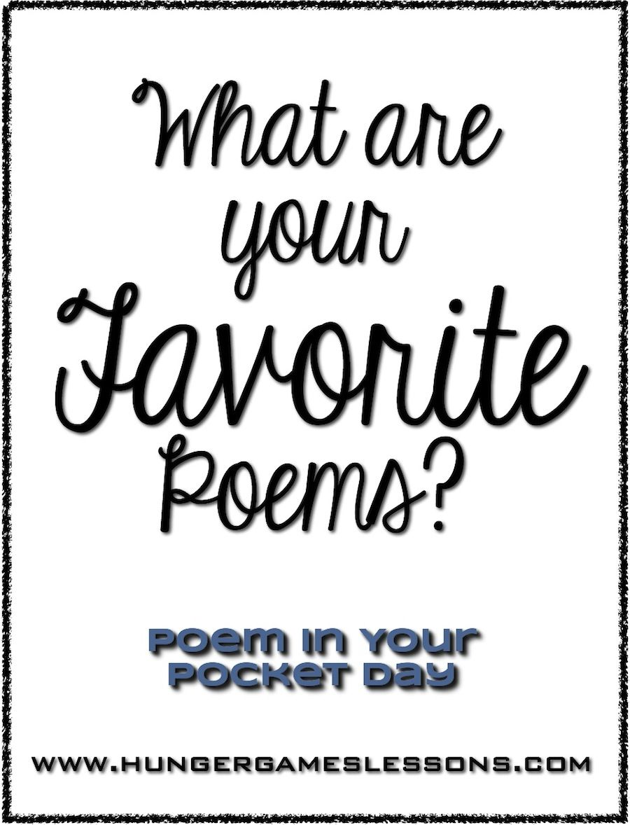 What are your favorite poems? Sharing on Poem in Your