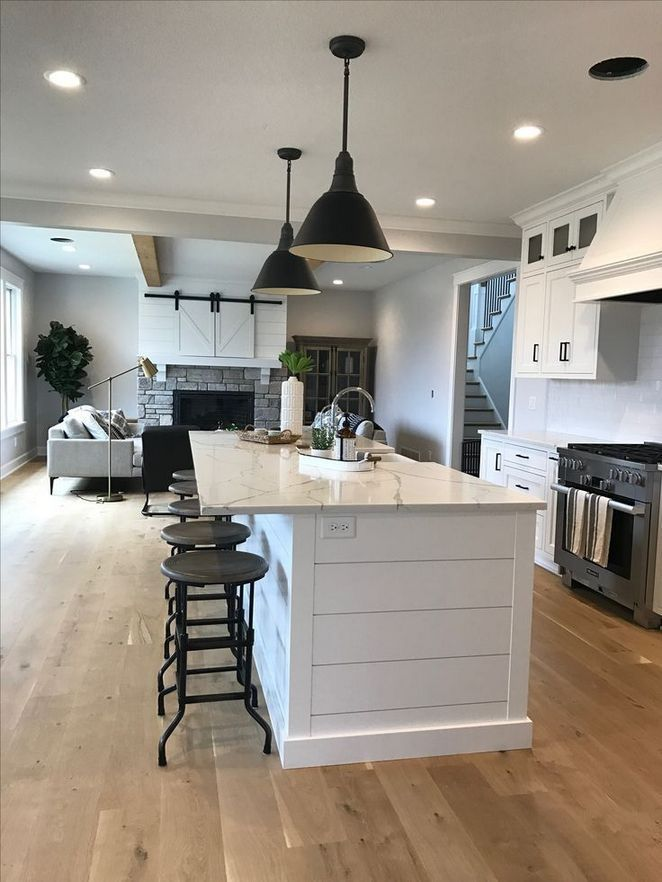 22 + answered Concerns on Industrial Farmhouse Kitchen That You Need to Read About - pecansthomedecor.com #islandkitchenideas