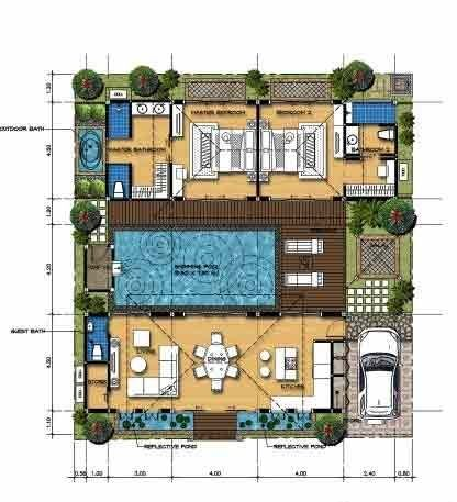 147 Excellent Modern House Plan Designs Free Download Https Www Futuristarchitecture Com 4516 Mo Home Design Plans Pool House Plans Architectural House Plans