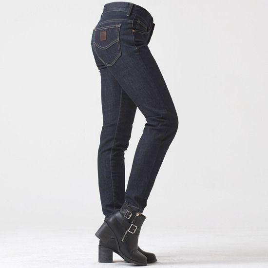 "uglyBROS Women's Jeans – ""R867-K"" – Kevlar, dark blue"