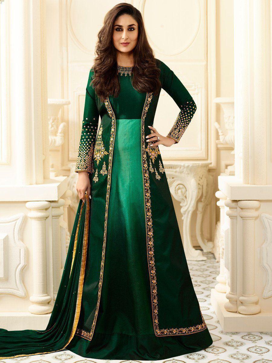 Salwar Pakistani Suit Designer Anarkali Kameez Indian Dress Party Wear Gown