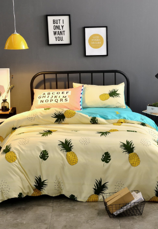 Pineapple Bedding Sets Quilts Duvet Covers Beachfront Decor Bedding Sets Pineapple Bedding Luxury Bedding Sets
