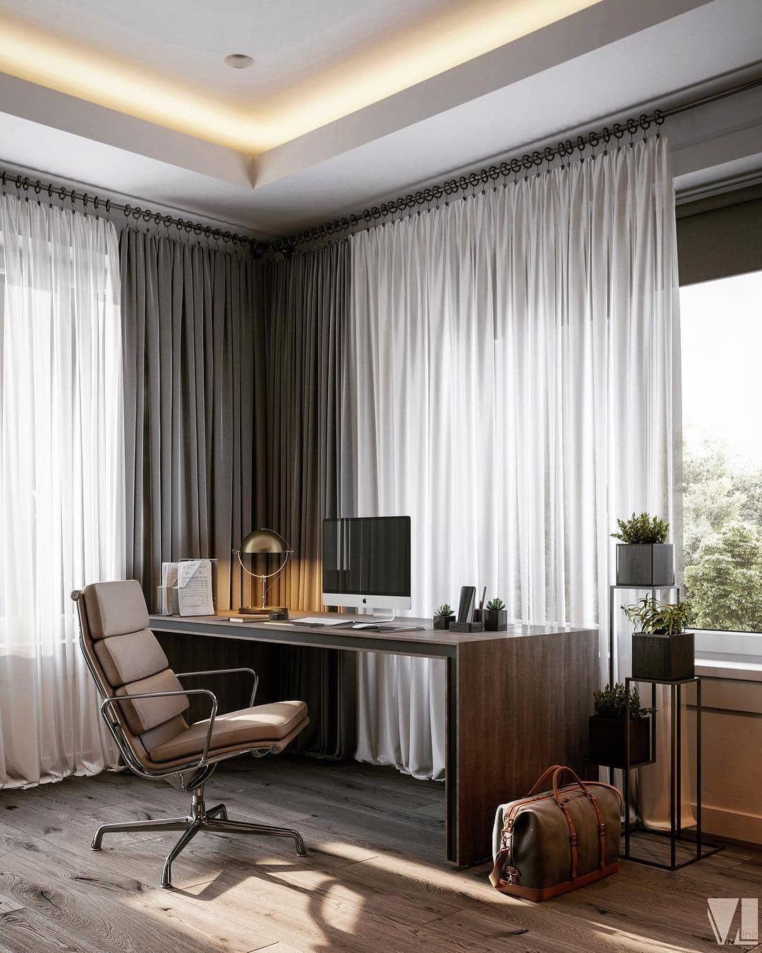 шторы для офиса фото дизайн получена