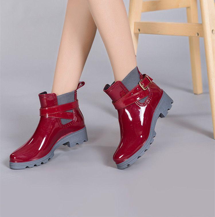 1Par de Cubiertas de zapatos para lluvia a prueba de agua de alta calidad planas antideslizantes para hombres y mujeres., hombre, negro