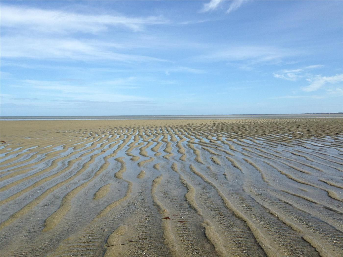 Awesome Cape Cod Low Tide Part - 9: Walk Forever At Low Tide At Breakwater Beach, Brewster, Cape Cod