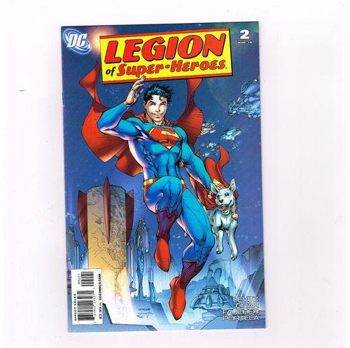 LEGION OF SUPERHEROES (v6) #2 Ltd 1/10 Superboy & Krypto variant by Jim Lee! NM http://r.ebay.com/FeuPGF