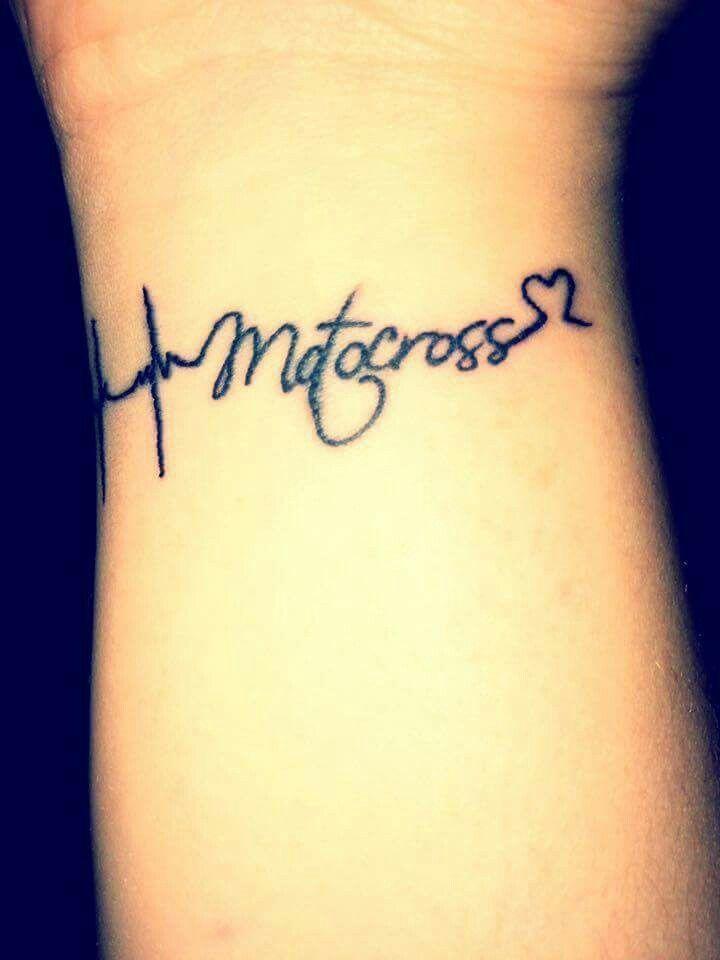 We love motocross tattoo heart motocross Idées De Tatouages, Tout,  Tatouage
