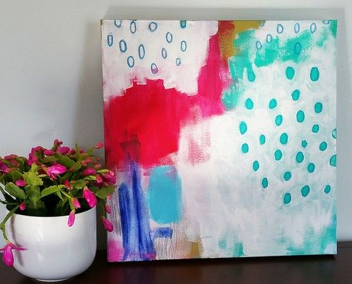 Marija Hamed abstract painting 'Myocytes002.' #art #inspiration #painting #decor #design