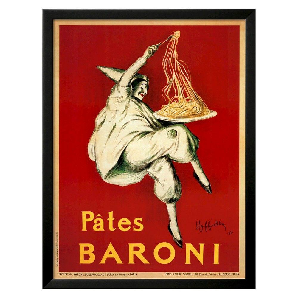 Art.com Pates Baroni, c.1921 by Leonetto Cappiello - Framed Art ...