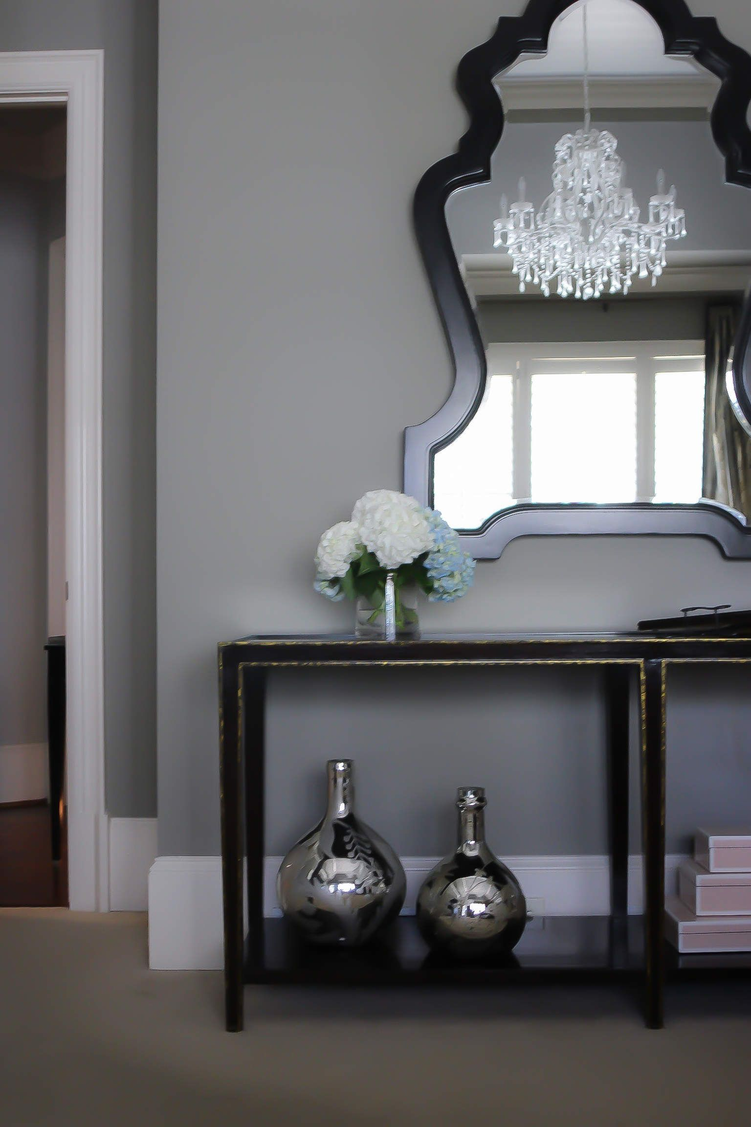 See it on Walls! Benjamin Moore Classic Gray Paint Gray