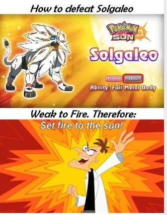 Doofenshmirtz' plan to defeat Solgaleo | #PokemonLetsGo