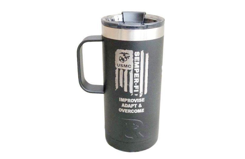 Insulated coffee mug big 16 oz personalized coffee mug