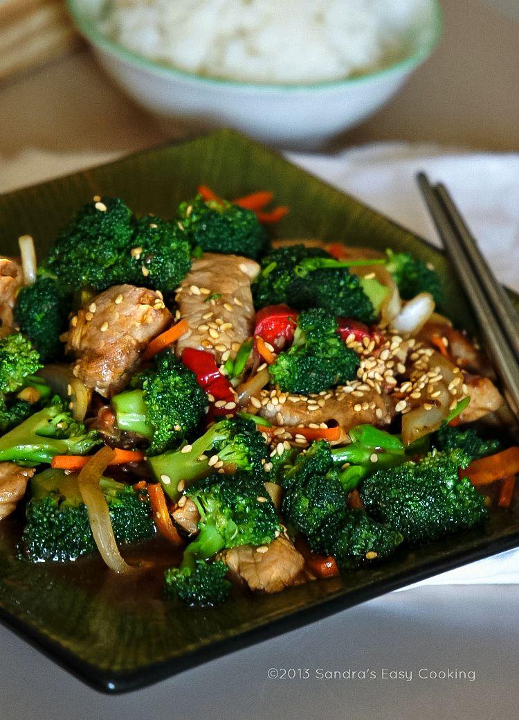 Broccoli And Pork Tenderloin Stir-Fry