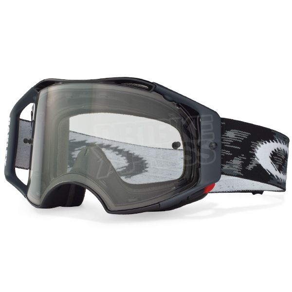 Oakley Airbrake MX Goggles - Jet Black Speed
